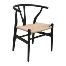 Modern Dining Chair With Hardwood Frame