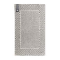 Honeycomb Bath Mat, Set of 2, Silver