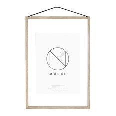 Moebe Picture Frame, Oak, A2