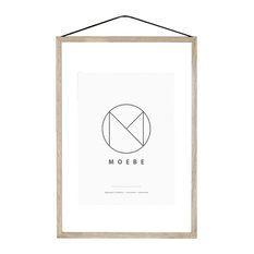 The Poster Club - Moebe Picture Frame, Oak, A2 - Picture Frames