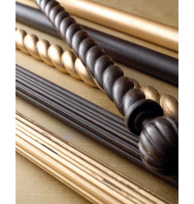 American Traditional Curtain Poles By Horchow