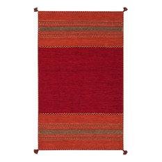 Surya - Southwestern/Lodge Trenza, Area Rug, Rectangle, Gold, 8'x10' - Area Rugs