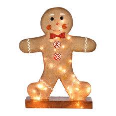 LED Giant Gingerbread Boy