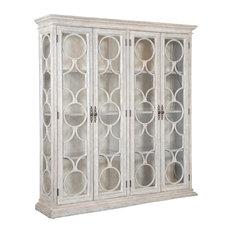 Ambella Home - Baliage Bookcase, Antique White - Bookcases