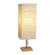 Adesso 8021-12 Dune Tall Table Lamp-Natural
