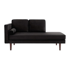 Mid Century Modern Upholstered Daybed and Chaise, Multifunctional and Versatile