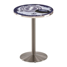 Tampa Bay Lightning Pub Table 28-inchx36-inch