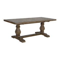 Quincy Reclaimed Pine Dining Table by Kosas Home, 30hx78wx38d