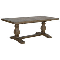 Quincy Reclaimed Pine Dining Table by Kosas Home, 78""