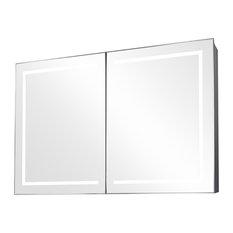Lea Ambient Light Demisting Bathroom Cabinet, With Under-Cabinet Lighting