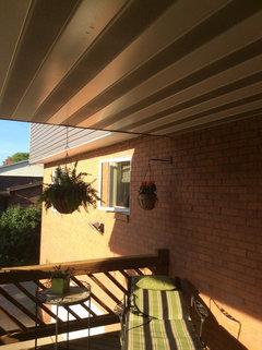 Painting Aluminum Porch Ceiling