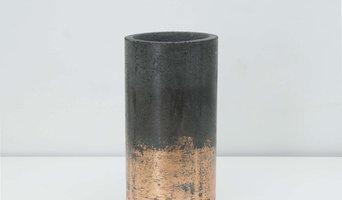 Бетонная ваза, 28 см