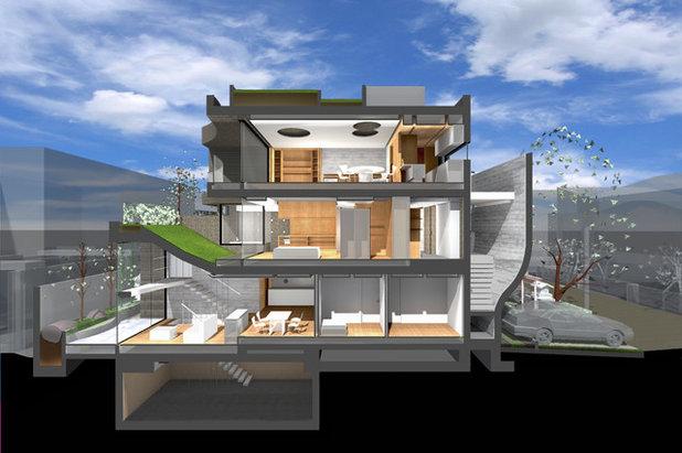 間取り図 by Kotaro Ide / ARTechnic architects