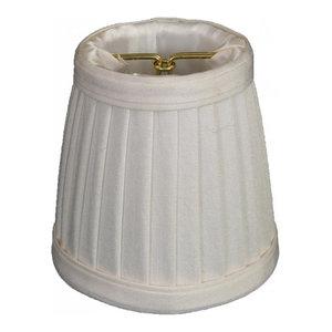 Royal Designs CS-103EG Clip On Empire Chandelier Lamp Shade Eggshell Inc.