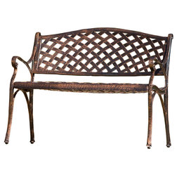 Traditional Outdoor Benches by GDFStudio