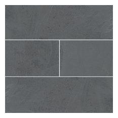 Designer Montauk Black 4X12X.32 Gauged, Gauged, Slate,
