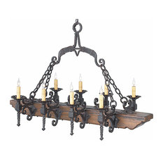 Dolores Wrought Iron Chandelier