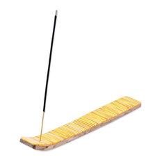 Novica Sunny Delight Wood Incense Holder