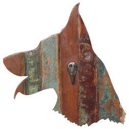 Lovely Rustic Wall Hooks by Dogstuff Depot Inc