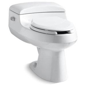 Kohler San Raphael 1-Piece Elongated 1.0 GPF Toilet w/ Includes Seat, White
