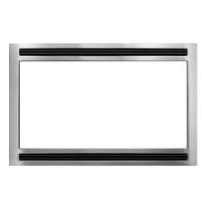"27"" Microwave Trim Kit, Stainless Steel"
