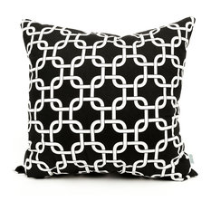 Outdoor Links Pillow, Black