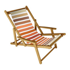 Deny Designs Sheila Wenzel Ganny Desert Boho Stripes Sling Chair