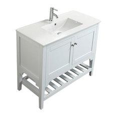 Aquamoon Rimini 40-inch Bathroom Vanity White