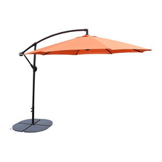 Cantilever Umbrella with Casted Polyresin Heavy Duty Weights
