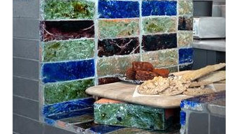 Our glazed Bricks and tiles used by Architects & Designers
