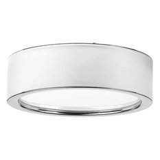 Progress Lighting   Progress Lighting Portal 1 Light Flush Mount, Polished  Chrome, 9