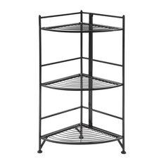 3-Tier Corner Folding Corner Shelf
