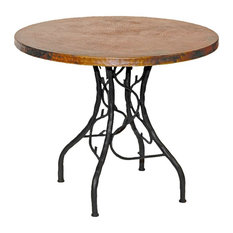 "South Fork Bistro Table With 36"" Round Copper Top"