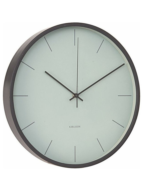 karlsson mist wall clock misty grey wall clocks