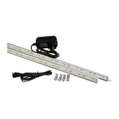 """37 Inches (2 Piece 18"""" Linked) White C3014 LED Light With UL 2A Power Supply"""