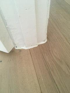 Silicone Mastic Around Floor Houzz Uk, How To Seal Laminate Flooring Edges