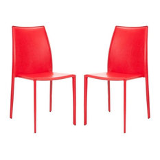 50 Most Popular Contemporary Red Dining Room Chairs For 2019 Houzz