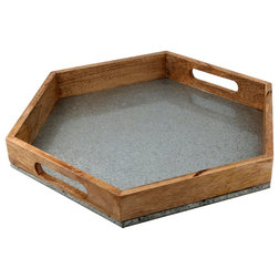 Industrial Serving Trays by Thirstystone