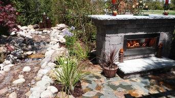 Custom Firegear Outdoors Fireplace