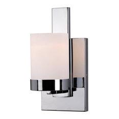 "Kenroy Home 93221 Eastlake 1 Light  5.25""W Bathroom Sconce - Chrome"