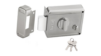IPSA NL01 Night Latches with Normal Key - 3 Keys Made by Steel Finish by SS