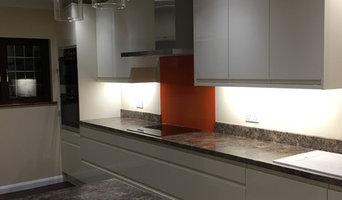 Ivory handless kitchen renovation