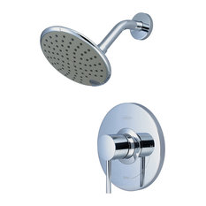 Single Handle Shower Trim Set, PVD Brushed Nickel, PVD Brushed Nickel