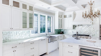 Stylish White Traditional Kitchen
