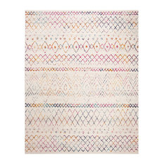 Safavieh Madison Collection MAD798 Rug, Ivory/Fuchsia, 8' X 10'