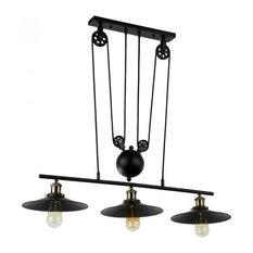 Lamps Next 3 Light Iron Island Fixture Matte Black Kitchen Island Lighting