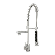 Avant Styles LLC - Torlan 1006 Single Hole Polished Chrome Kitchen Faucet - Kitchen Faucets
