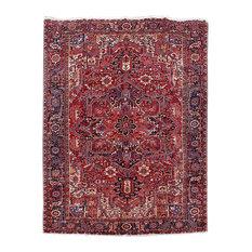 Consigned, Persian Rug, 9'x12', Handmade Wool Heriz