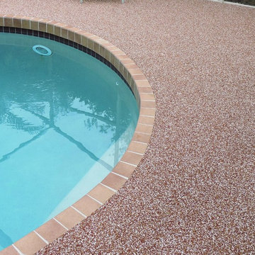 Residential Swimming Pool Rubber Deck