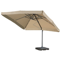 Traditional Outdoor Umbrellas by GDFStudio